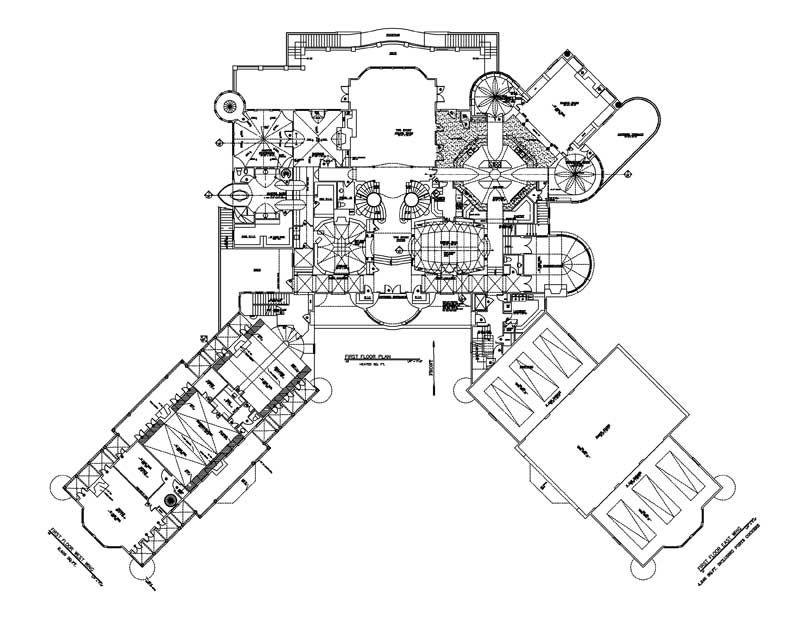 Balmoral House Plan 6048 Castle Plans Balmoral House Luxury House Plans