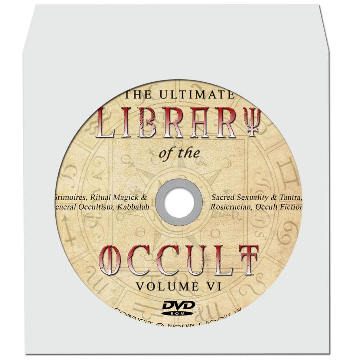 LIBRARY of the OCCULT 2700 Rare Vintage books pdf 8 DVD-Roms