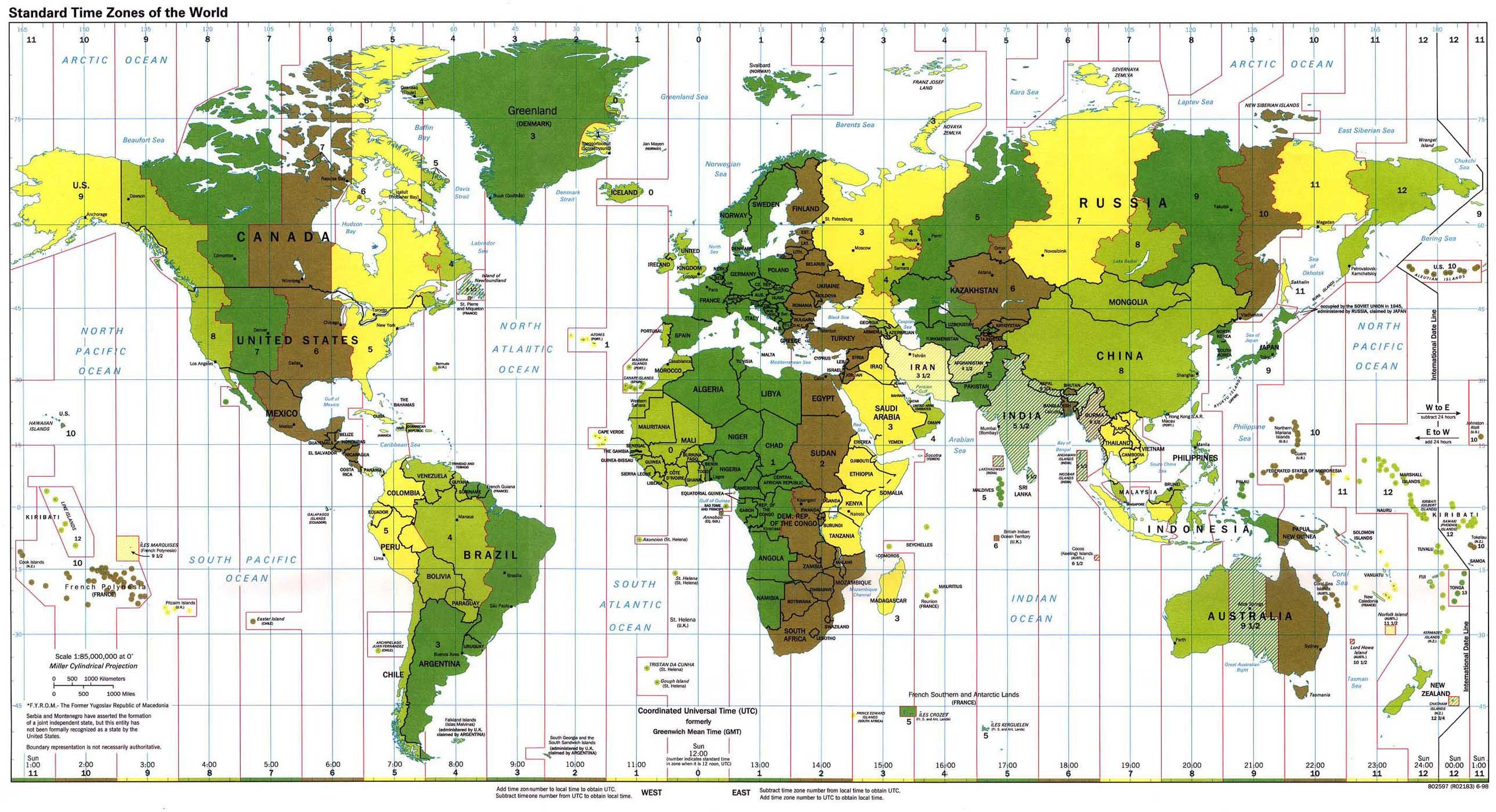 Pin by geografia universaltb on cartografa pinterest world clock size 9 mb interactive world map selected theme or custom theme in the settings window gumiabroncs Image collections