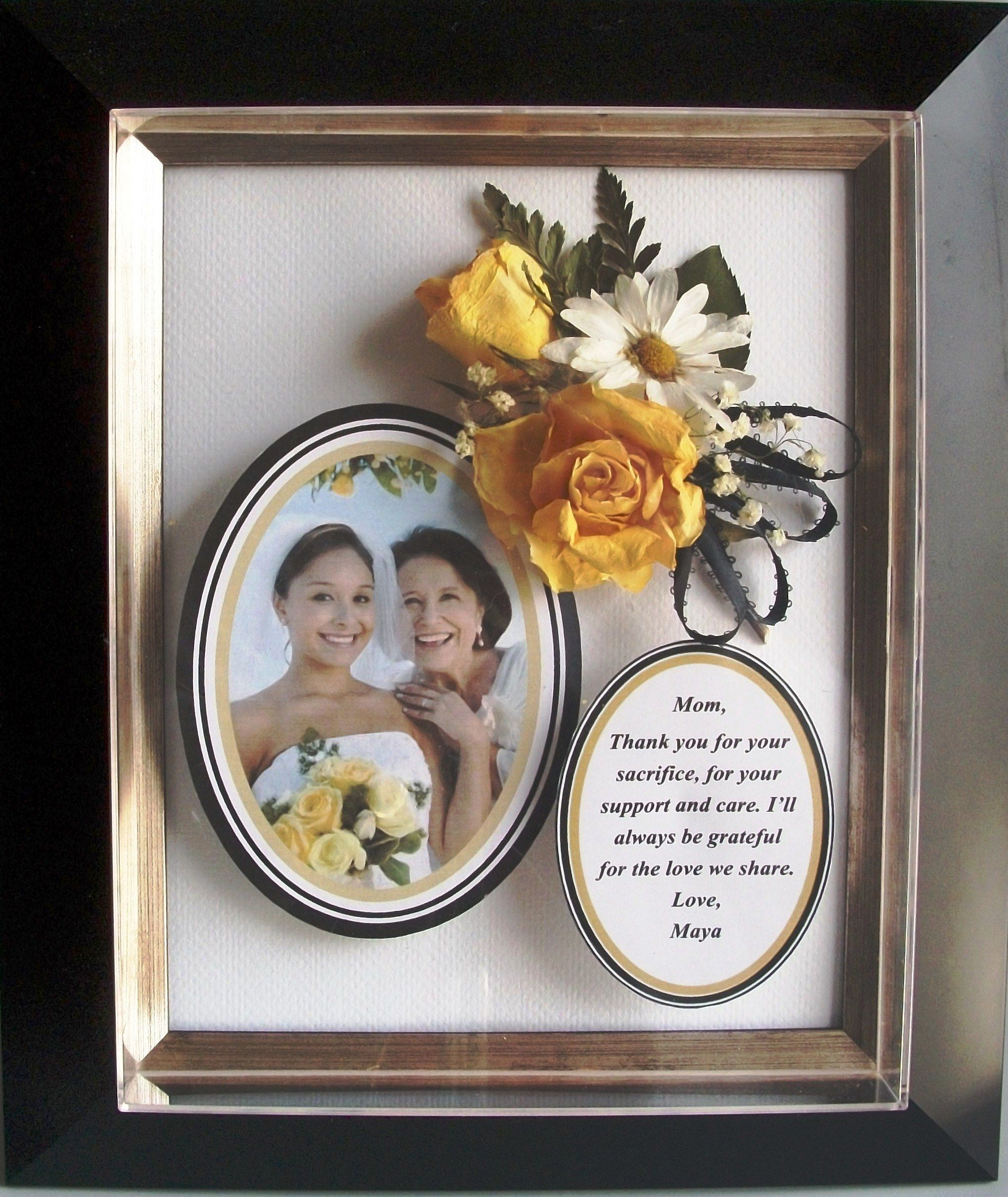 Post Wedding Gifts: Clever And Pretty! Mother Of The Bride Keepsake