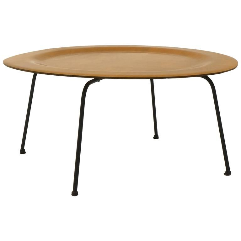 Early Second Generation Eames CTM Coffee Table Metal Legs ...