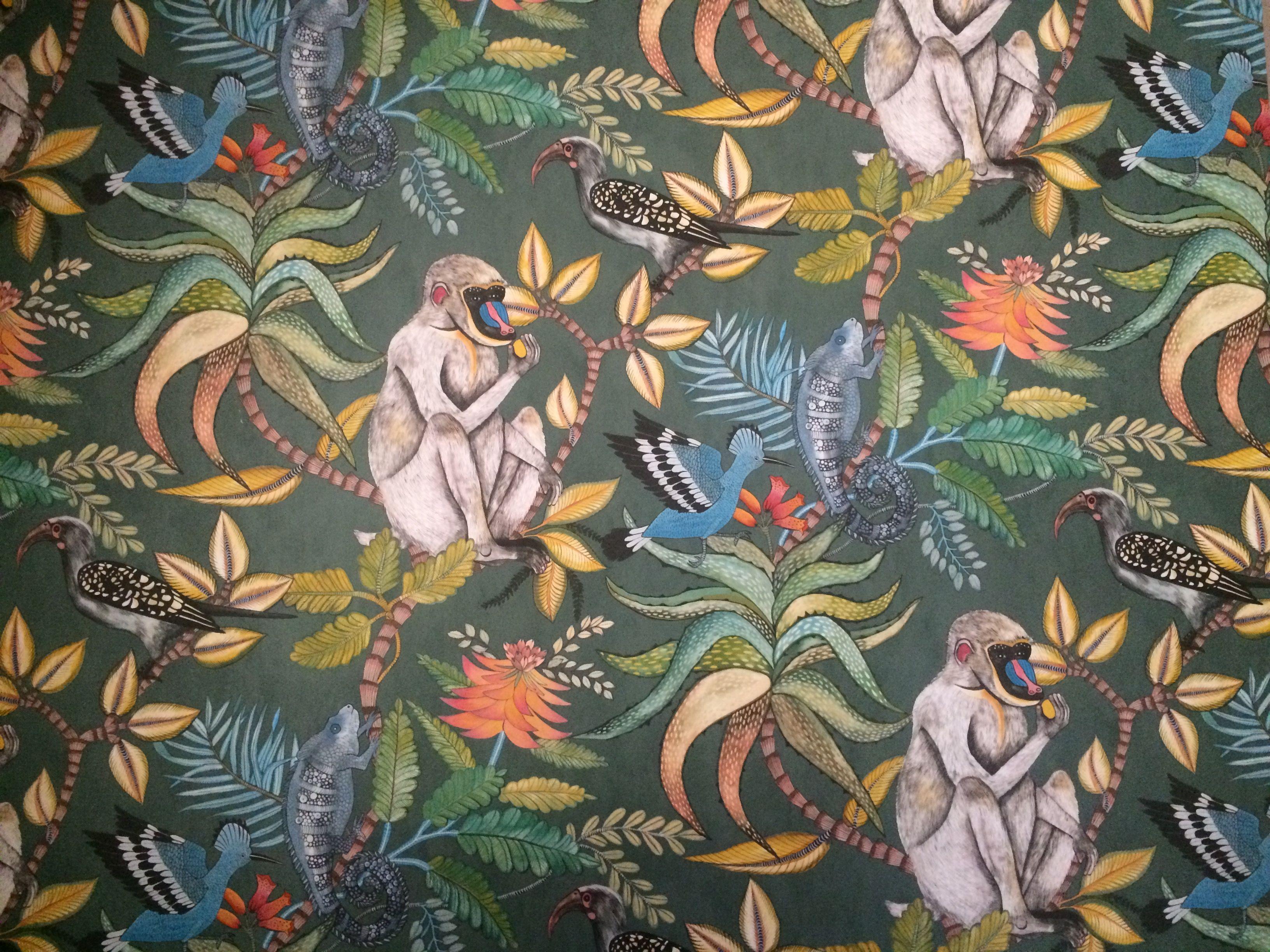 papier peint jungle bhv interieur