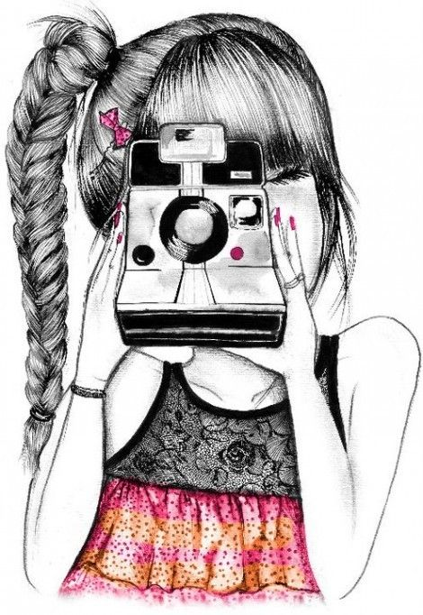 Desenhos Tumblr Rock Pesquisa Google Girls With Cameras