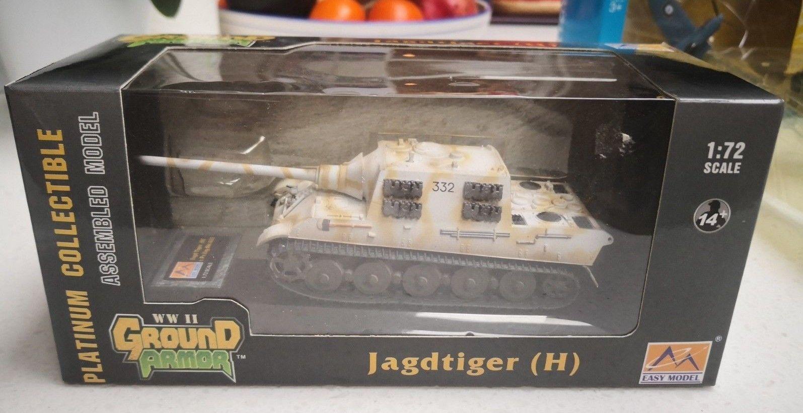Easy Model 1/72 JagdTiger s Pz Jag Abt 653 - ready made