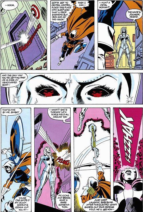 Jocasta Vs Taskmaster Marvel Comics Superhero Marvel