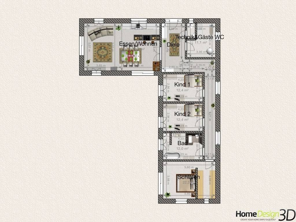 Hauspläne l-form  grundriss-bungalow-deeviz-for-bungalow-l-form-luxus-bungalow-l-form ...