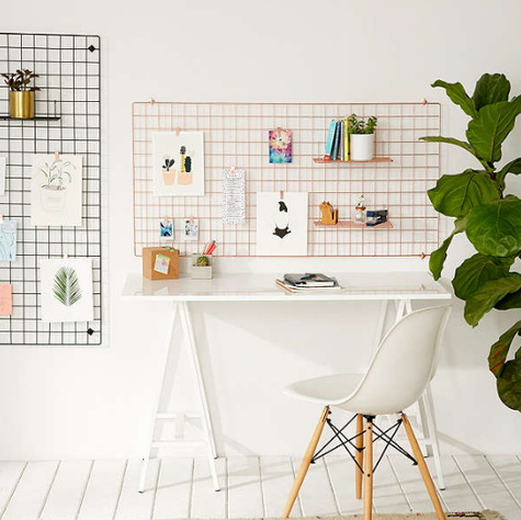 38 Things For Your Desk That Are Basically Too Awesome Not To Buy In 2020 Desk Office Wall Organization Chic Office Space