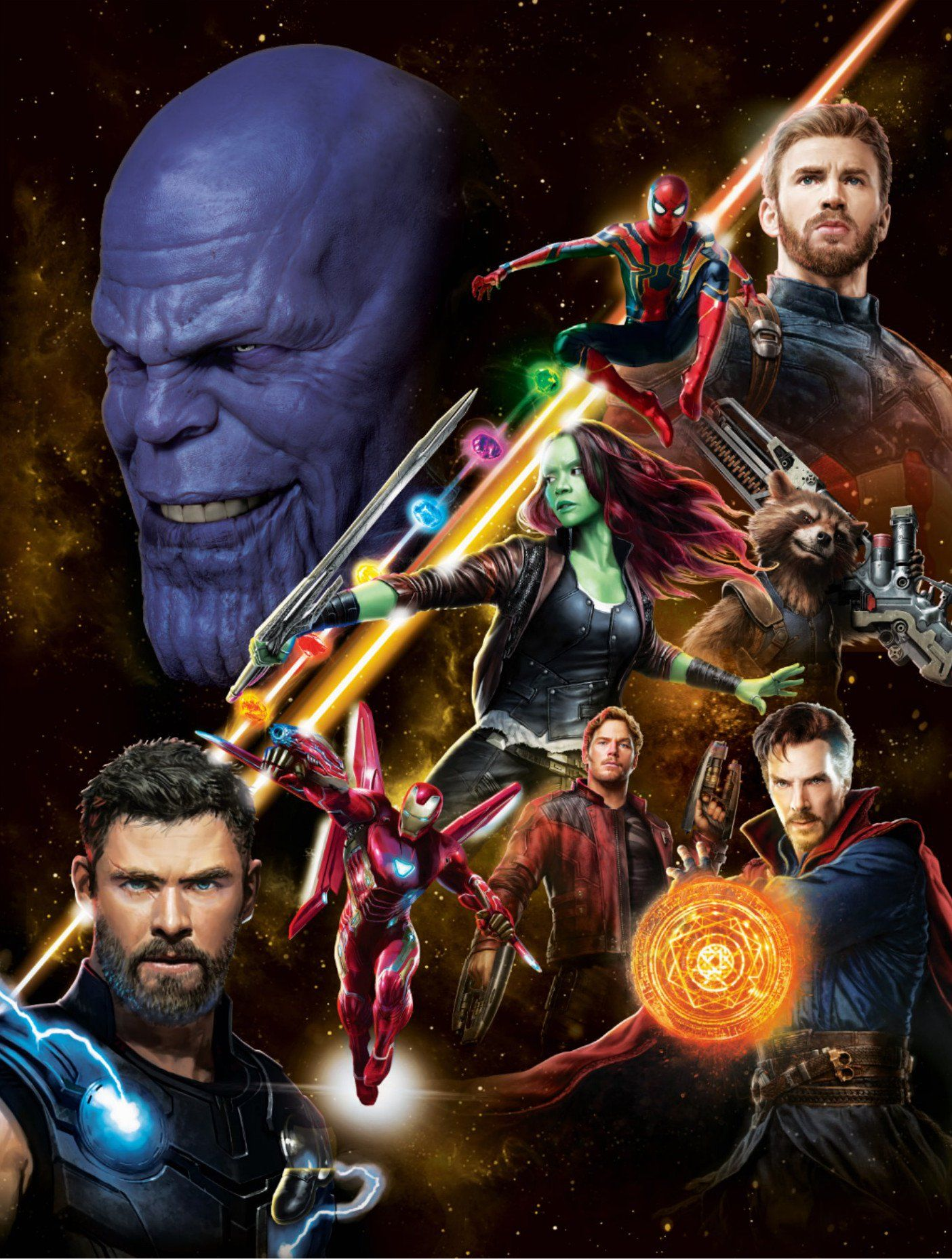 Avengers: Infinity War Assembles In New Poster Art, this is some ...