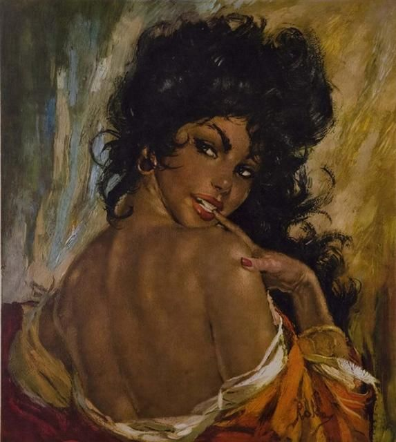 915431581 lady- Me all day, The lady | ART | Art, Afro art, Painting
