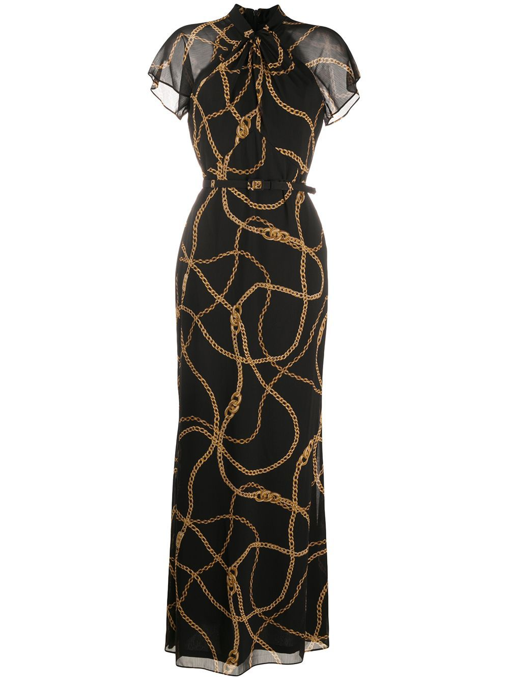 Polo Ralph Lauren Chain Print Maxi Dress Farfetch Printed Maxi Dress Maxi Dress Printed Maxi [ 1334 x 1000 Pixel ]