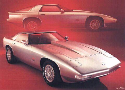 1973 Chevrolet XP 898 Conceptual Illustrations