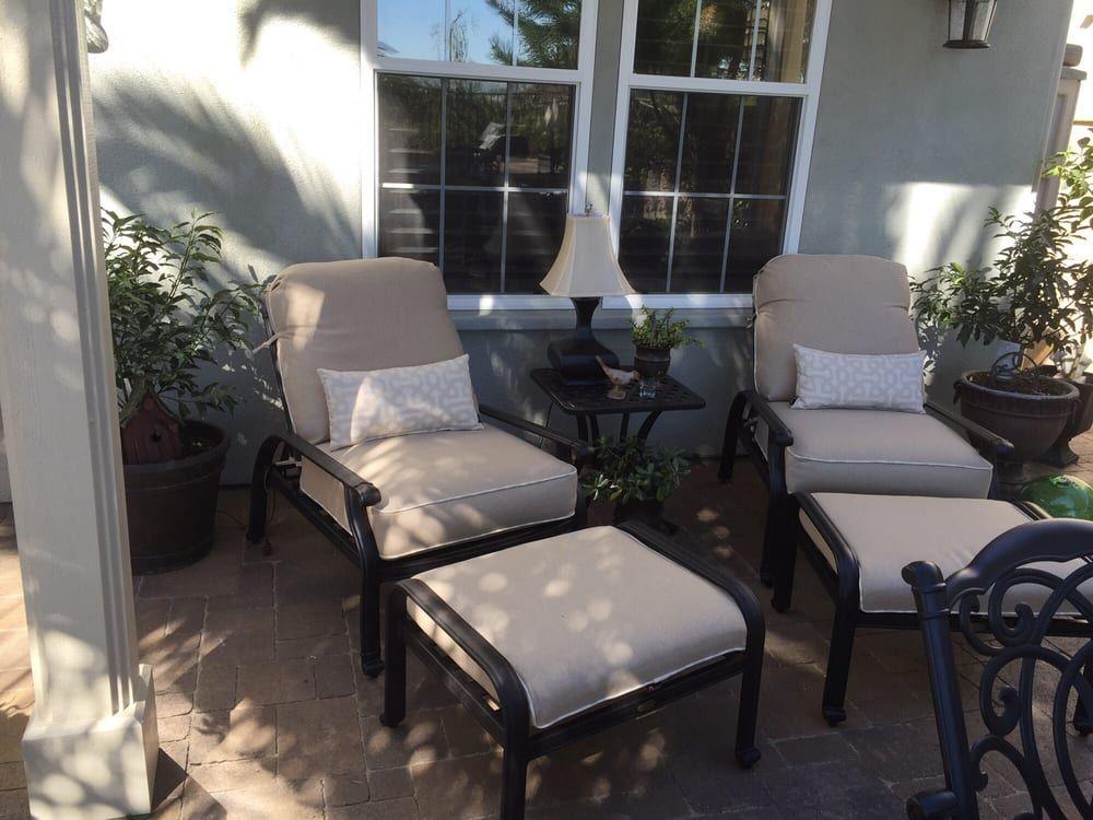 Summerset Furniture Club Chair U0026 Ottoman