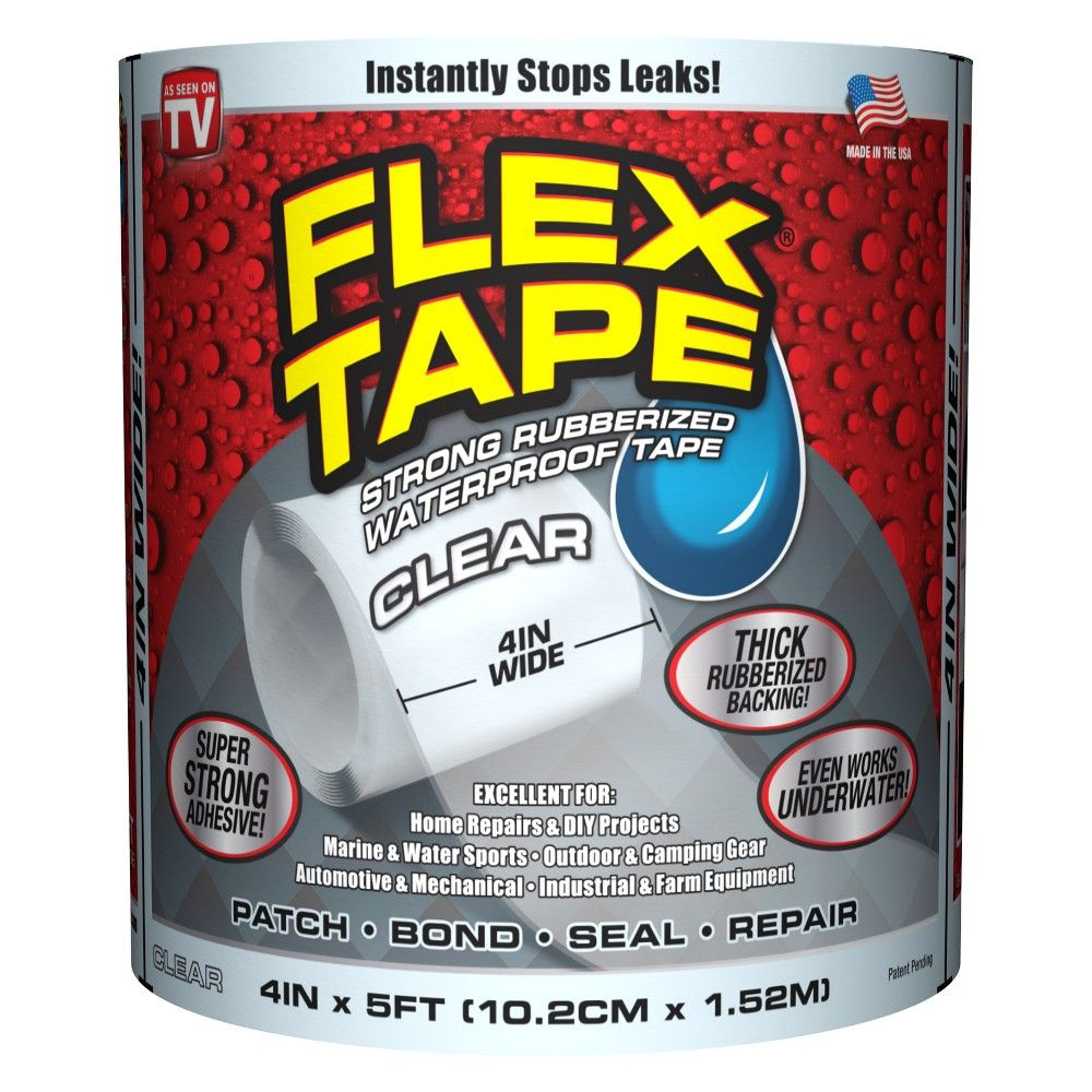 As Seen On Tv Flex Tape Clear Waterproof Tape Infomercial Products Repair Tape