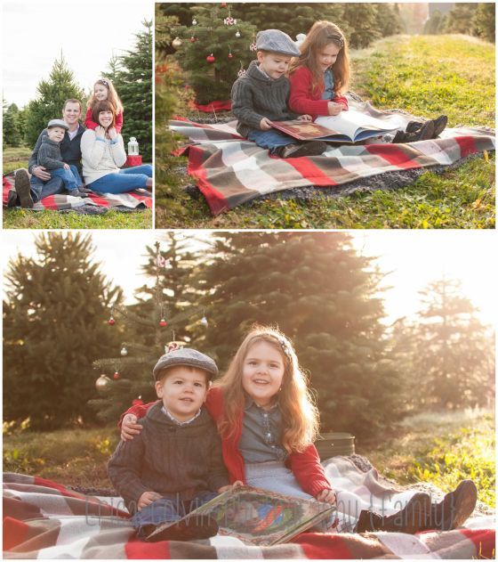 Christmas Tree Farm Southern California: Christmas Tree Farm Mini Session Hot Chocolate Mini