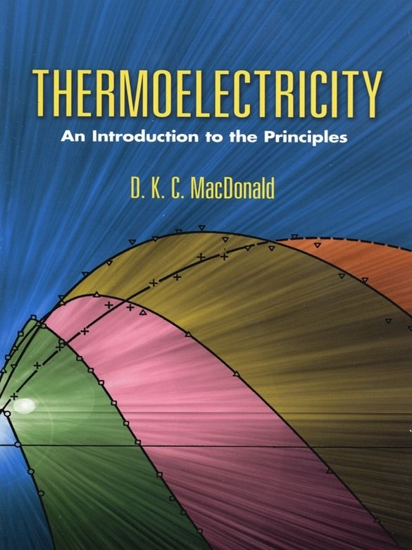 Thermoelectricity Physics Books Data Science