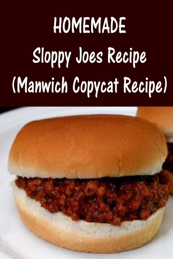 Homemade Sloppy Joes Recipe - Better and Healthier Than Store Bought!