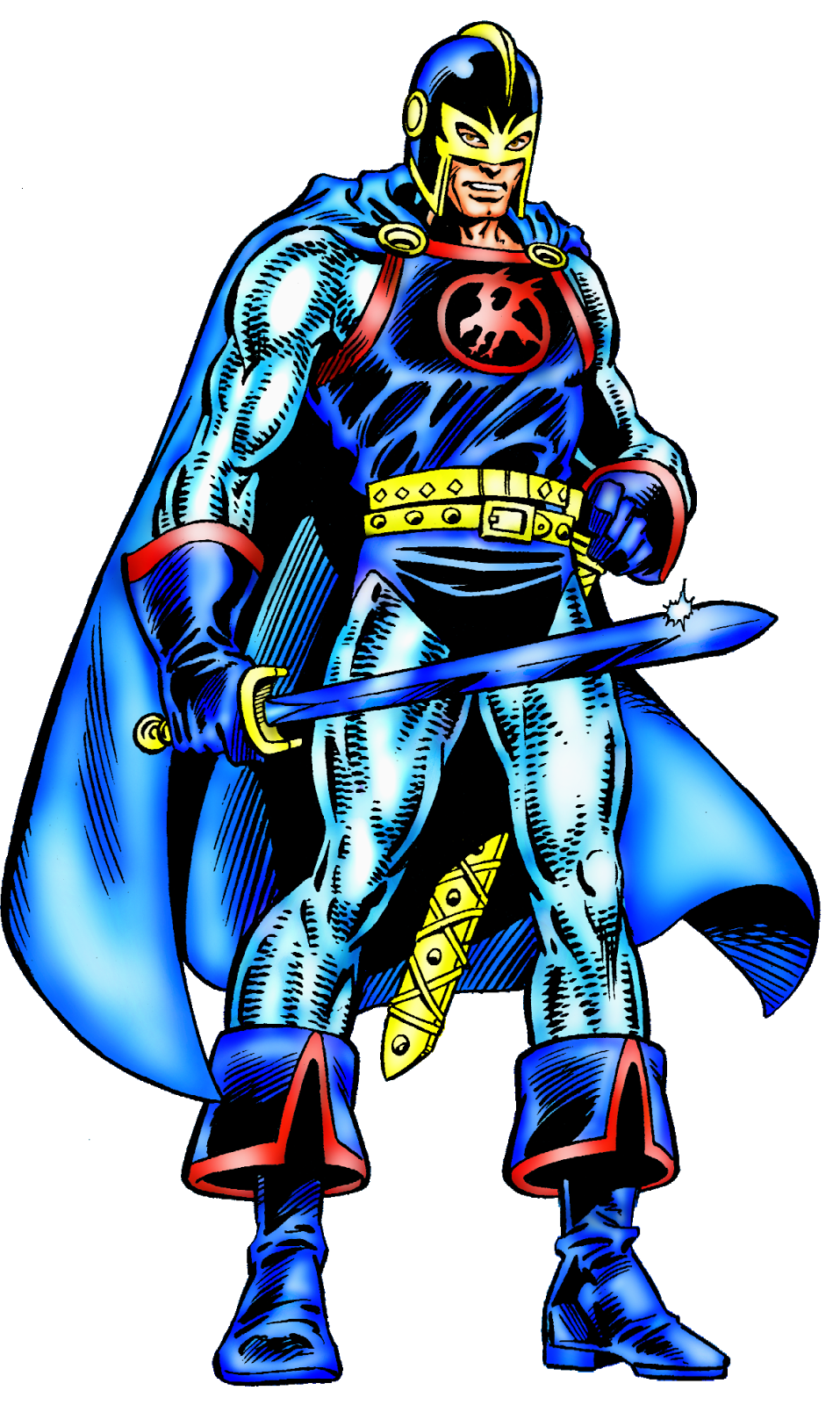 Black Knight III: Avengers & Heroes for Hire Black Knight Avengers