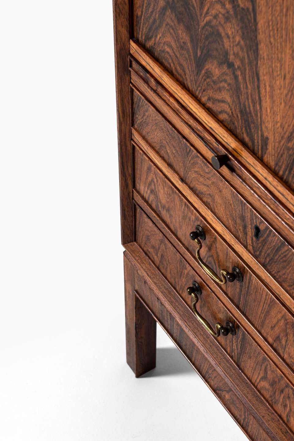 For Sale On 1stdibs Rare Cabinet In Rosewood Produced By Cabinetmaker C B Hansen In Denmark Rosewood Cabinet Cabinet Makers Rosewood Furniture