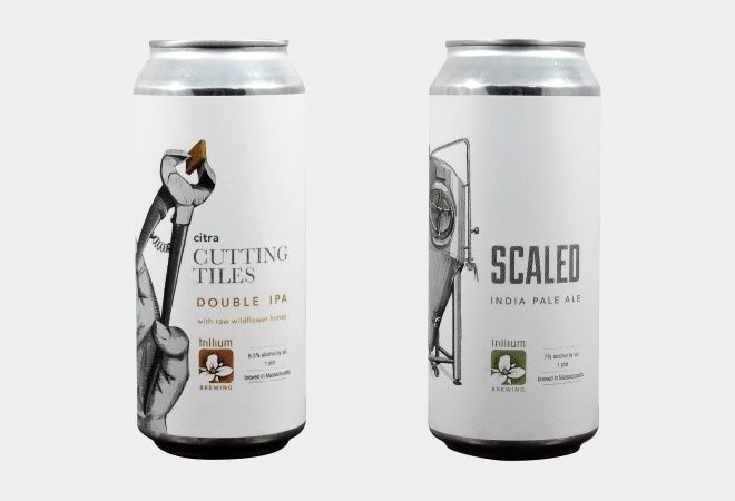 The Most Beautiful Beer Cans Of 2017 Beer Pinterest Beer Label