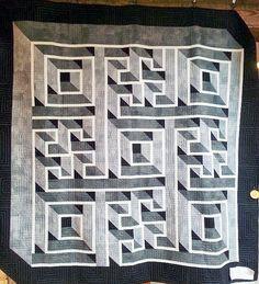 labyrinth walk quilt pattern free - Google Search   Quilting ... : free labyrinth quilt pattern - Adamdwight.com