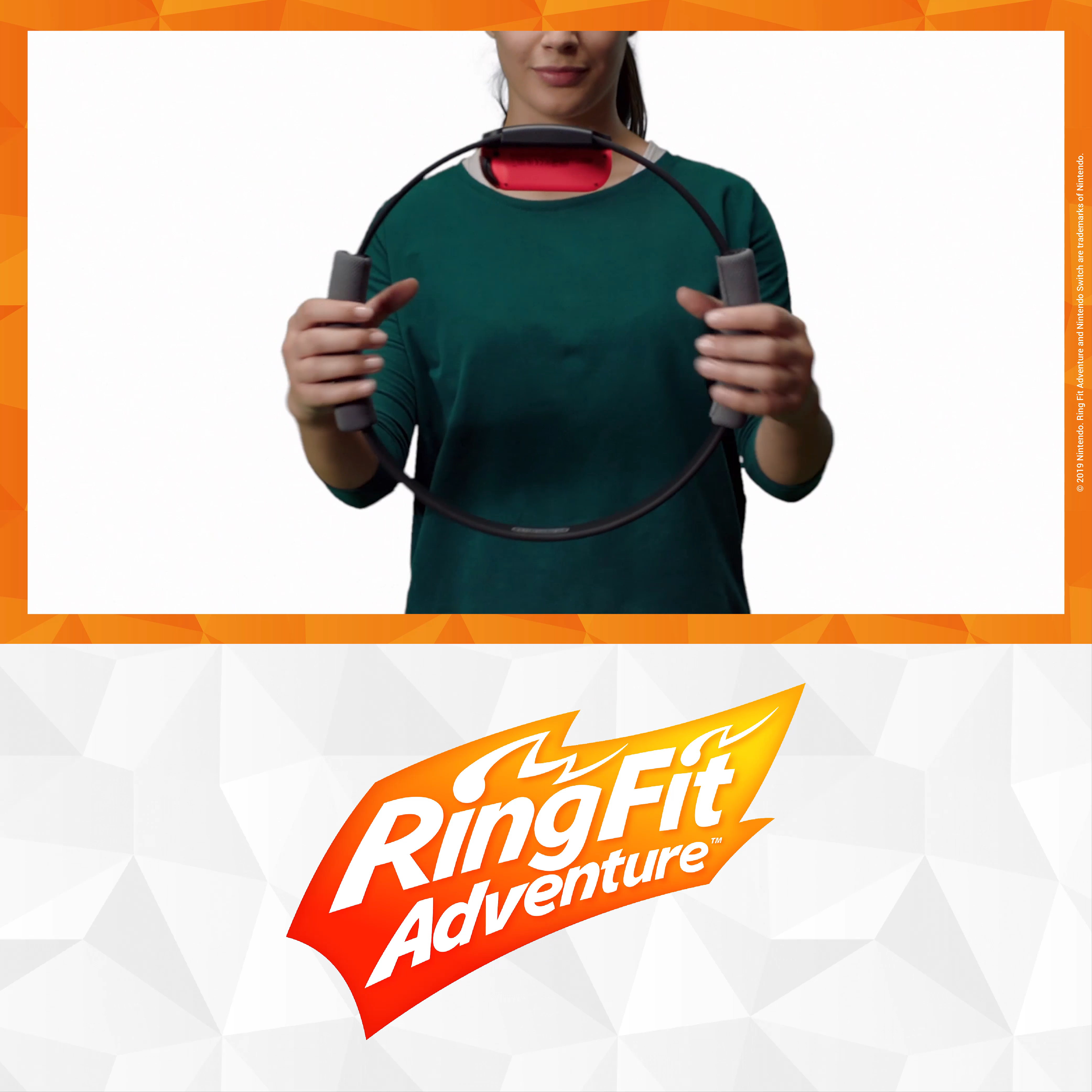 Ein Abenteuer das bewegt Ring Fit Adventure für Nintendo Switch Erkunde eine riesige FantasyWelt und besiege Gegner mit über 60 echten Fitnessübungen