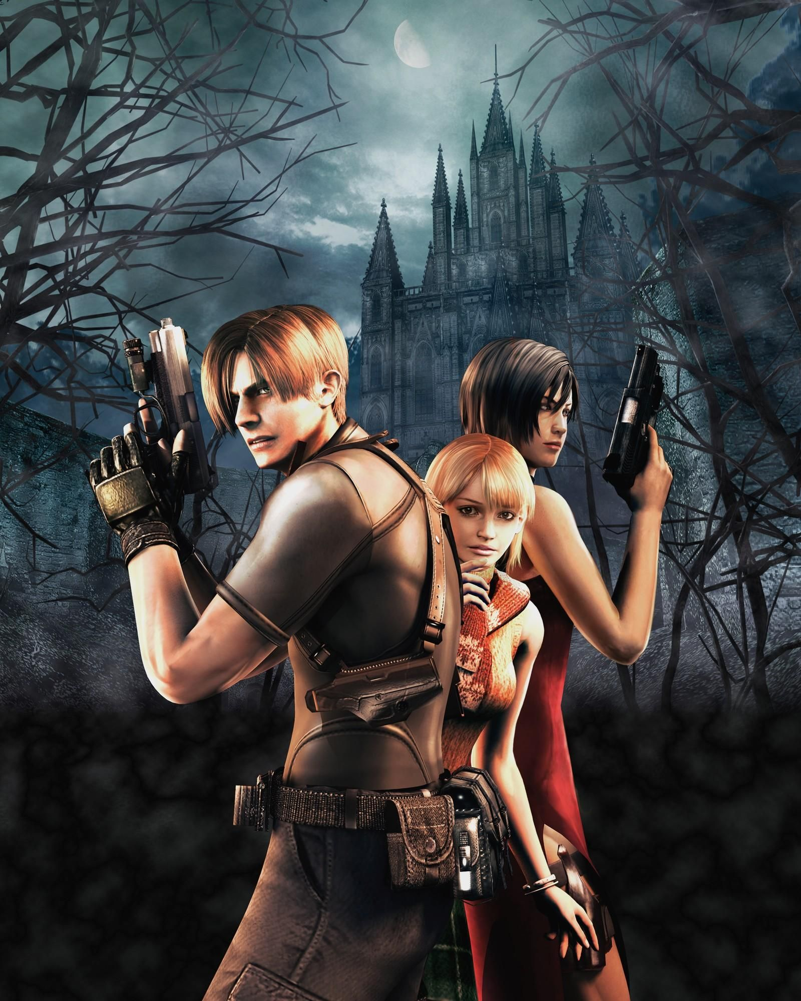 Resident Evil 4 Wallpapers Hd Download Risunki Cherepa Giki