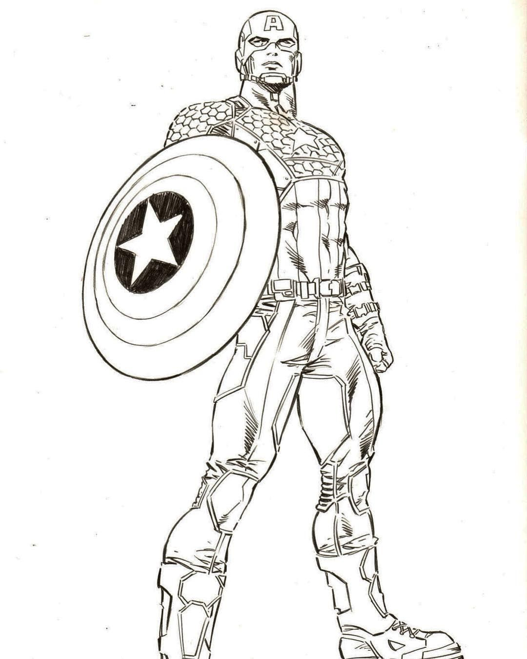 Captain America Captain America Art Comic Book Artwork Captain America