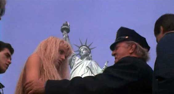 Image result for Splash (1984) statue of liberty
