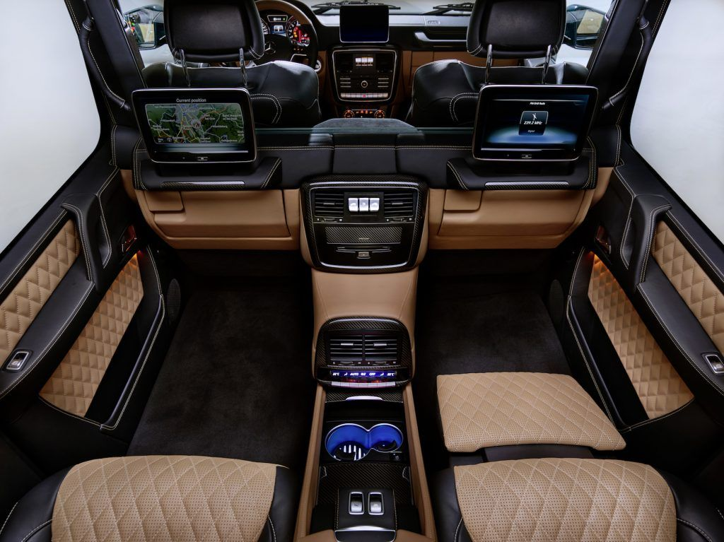 G Klasa Maybach 6x6