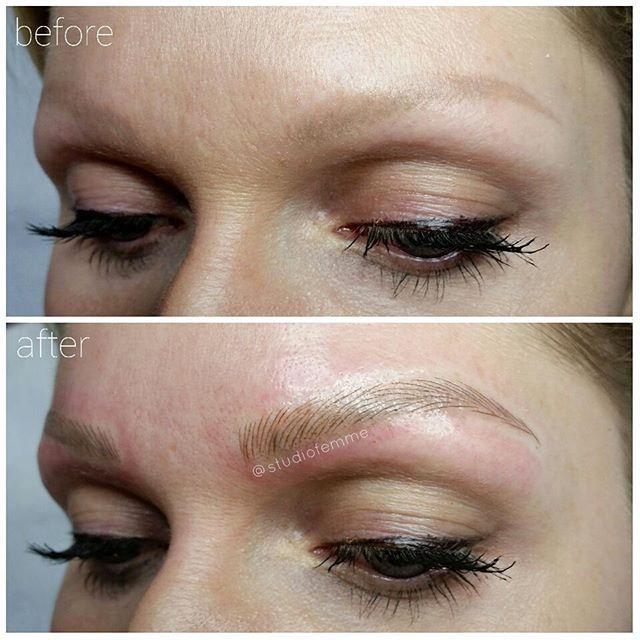 o l d t a t t o o f i x previously tattooed brows were