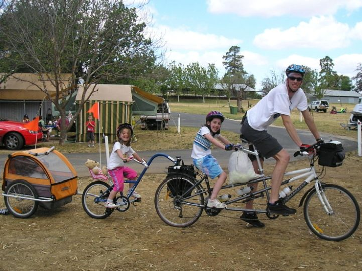 Tandem Trail A Bike With Child Seat Google Search Biking With