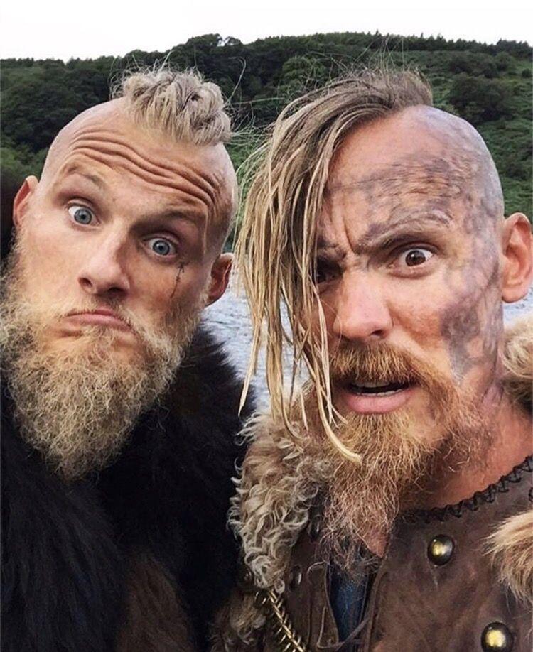 Bjorn Alexander Ludwig Halfdan Jasper Pääkkönen Vikings Future Husbands Wikinger