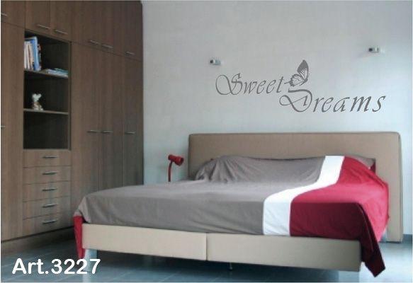 muurtekst slaapkamer