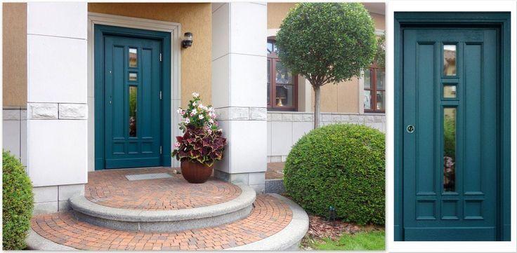 Classic oak wooden exterior doors, exterior doors …- Klasy…