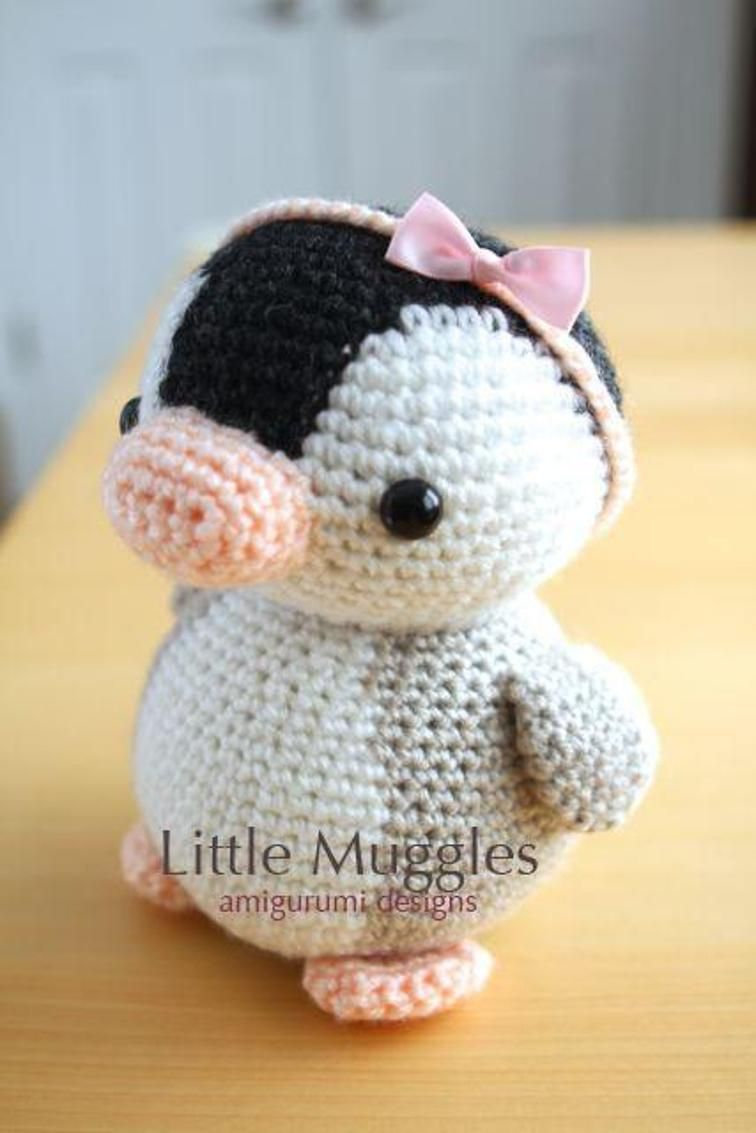 Amigurumi Pattern - Pippin the Penguin | Amigurumi, Penguins and ...