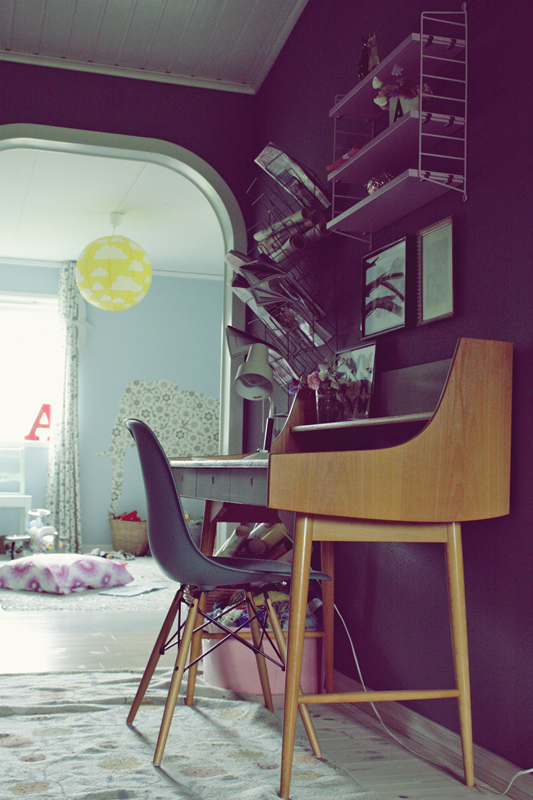 åpent hus: Fine Olapulten / retro desk
