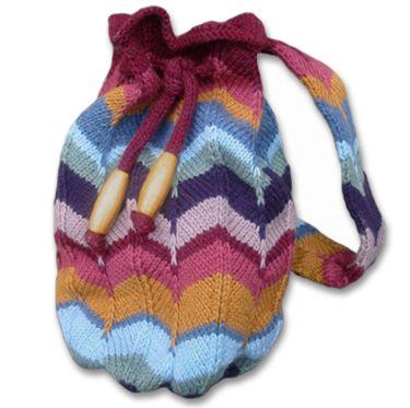 625f6938e57 KnitWhits - Knitting Patterns and Kits - Roma Wool Backpack