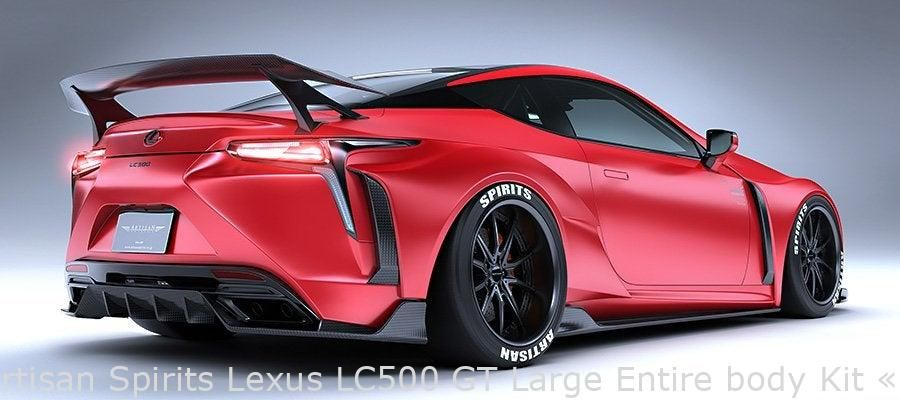 Artisan Spirits Lexus LC500 GT Large Entire body Kit « uncooked | Fortill