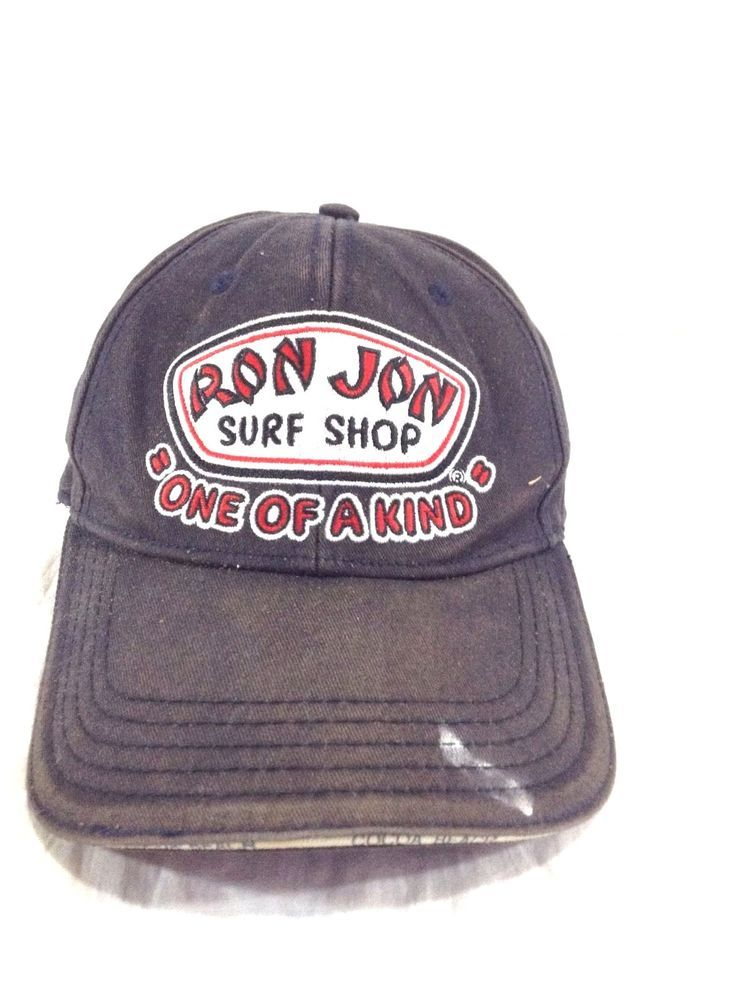 Ron Jon Surf Shop Hat Cocoa Beach Faded Beat Up Adjustable Strapback Cap   RonJon c799a32b00a6