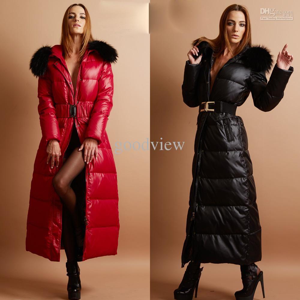 SELX-Women Stylish Winter Puffer Down Button Outwears Swing Parkas Coat