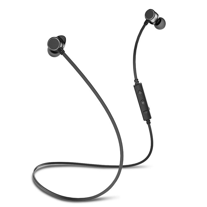 Awei Wt10 Wireless Bluetooth Earphone Magnetic Sports Stereo Headphone With Mic For Iphone Xs Max Headphone With Mic Bluetooth Earphones Music Headphones