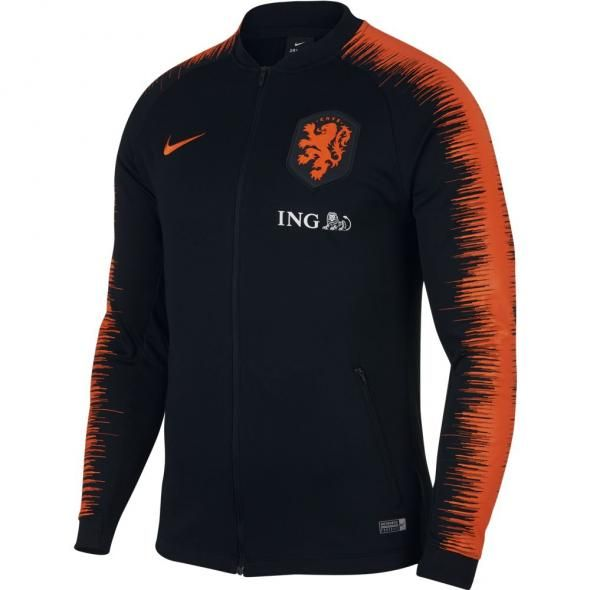f78d8dcb97d Nike Nederland Anthem Trainingsjack 2018-2020 Black Safety Orange ...