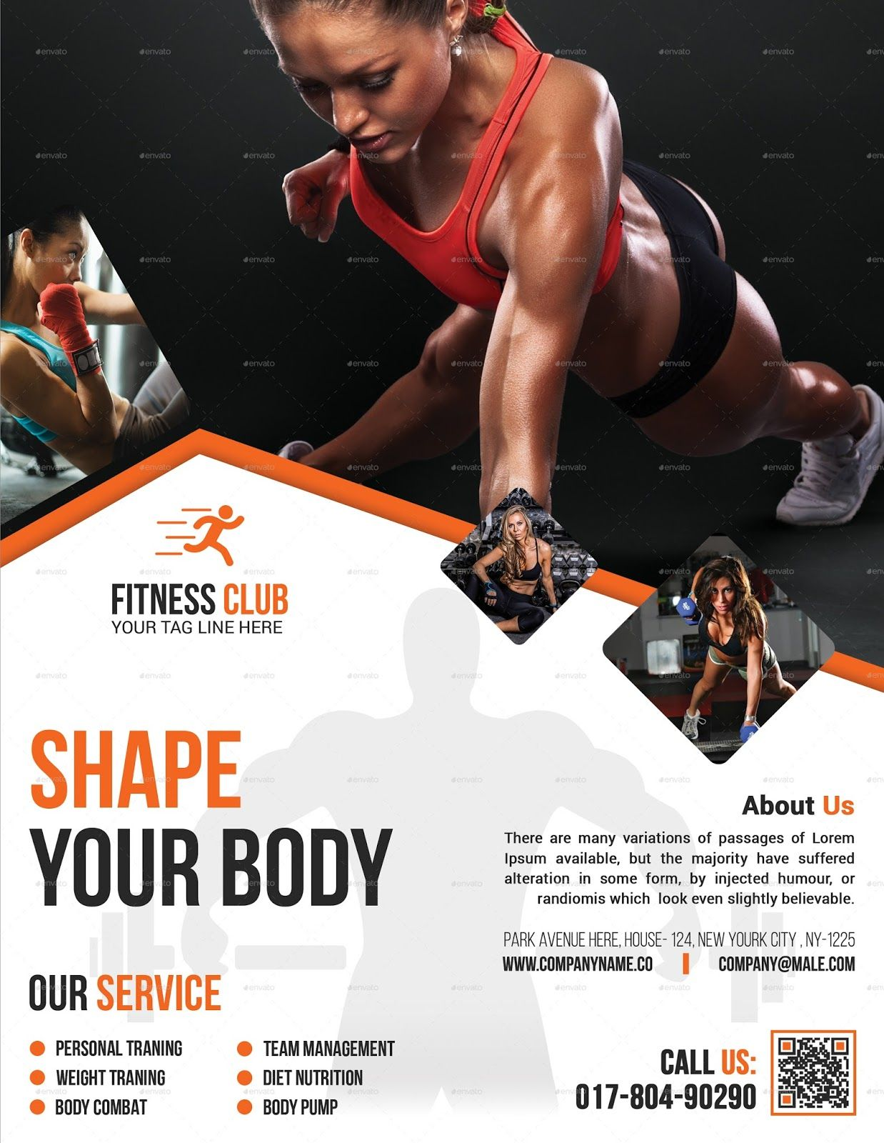 Fitness Flyer  Gym Flyer  Elite Designer  Flyer Design