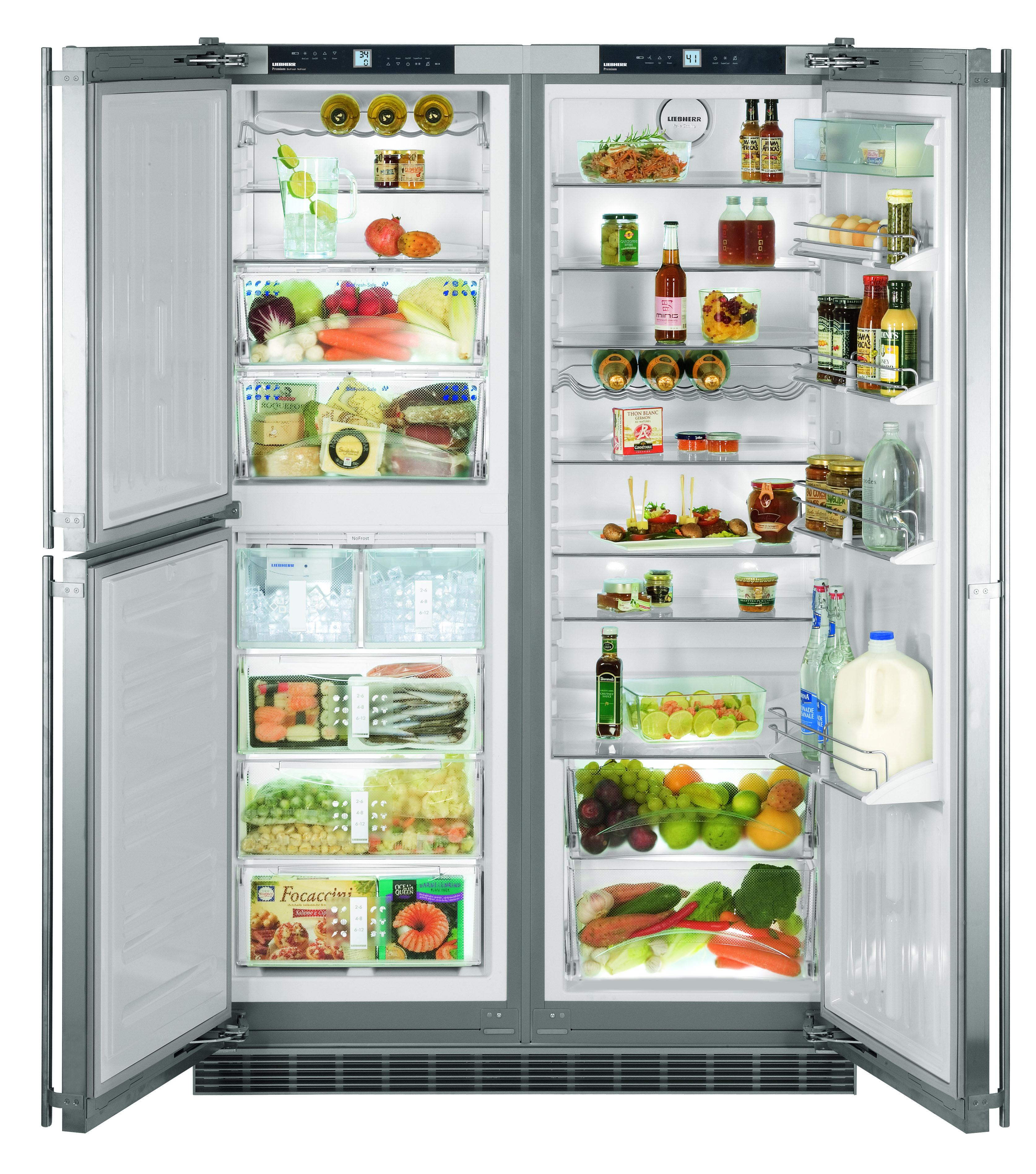 48 builtin liebherr sbs 241 kitchen appliances