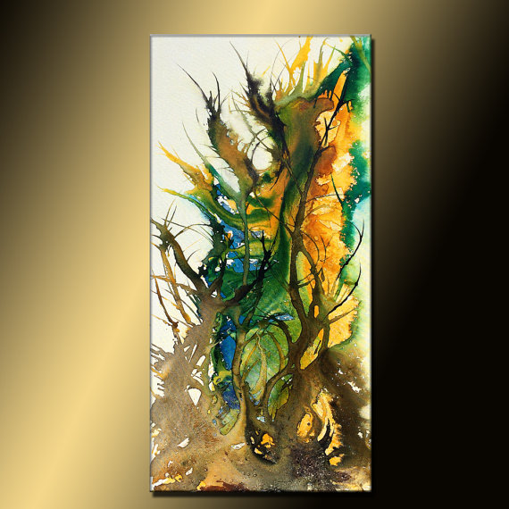Original Abstract paintingContemporary Modern by newwaveartgallery, $575.00