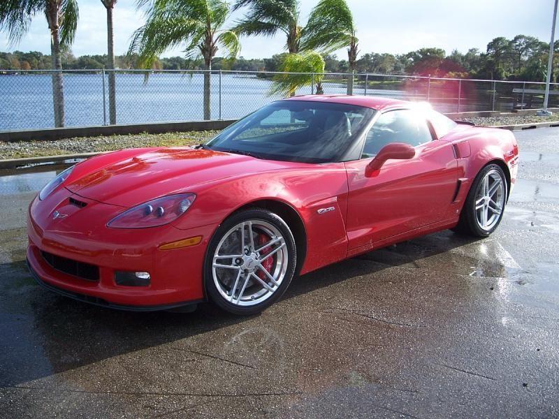 2007 Victory Red Z06 With 458 Miles 2007 Corvette Hardtop For Sale Maitland Florida Corvette Red Corvette Chevrolet Corvette