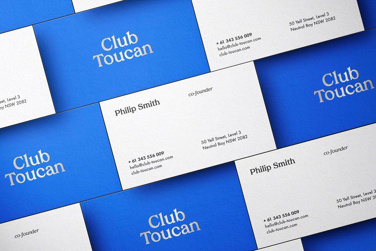 Selva Business Card Mockup Kit in 2020 Business card