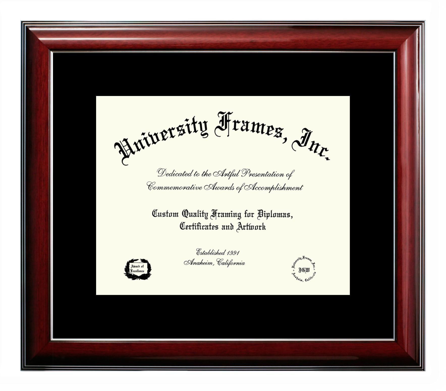University Frames Diploma frame, Frame, University of