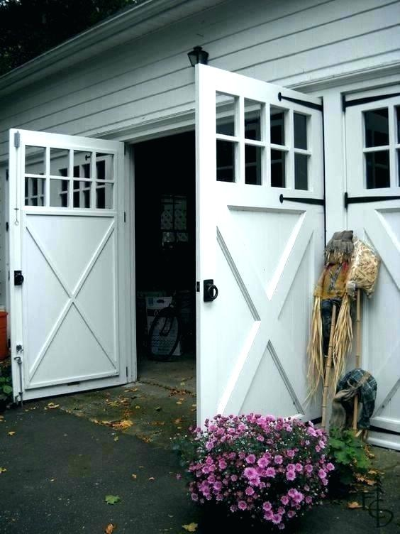 Swinging Garage Door Swing Open Doors Out Or Swings Carriage Invite Garage Doors Carriage Door Door In 2020 Carriage House Doors Garage Doors Garage Door House