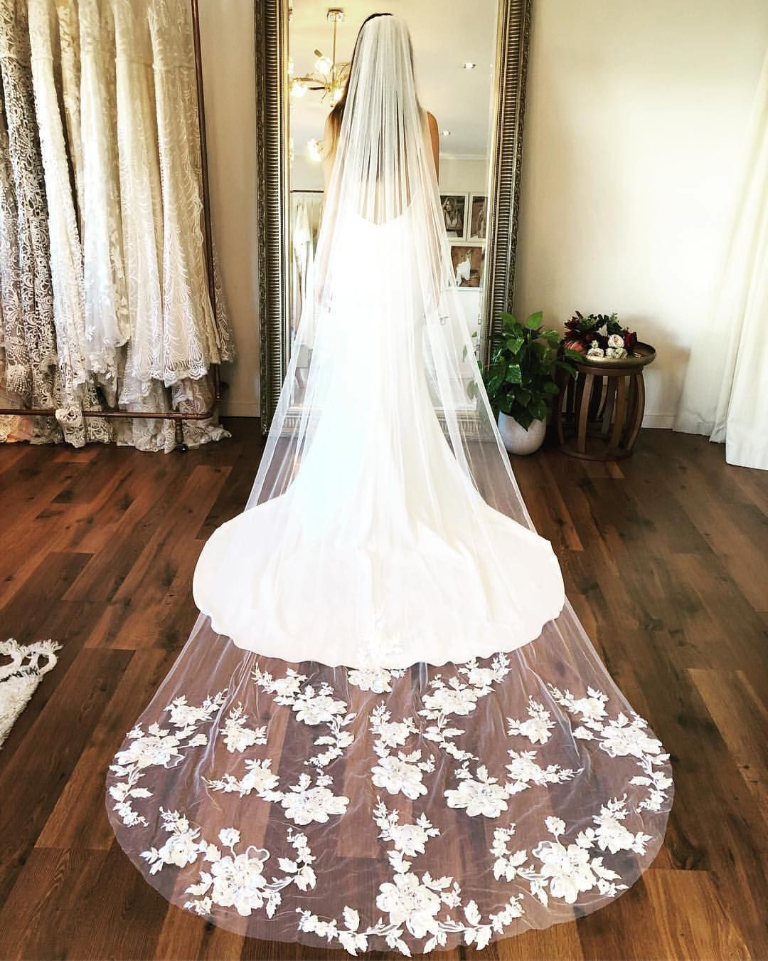 Veil Goals Repost Madewithlovebridal Done Deal Stevie Veil With Our Georgie In Fr Embellished Wedding Dress Affordable Wedding Dresses Wedding Dresses